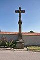 Kříž u fary, Pustiměř, okres Vyškov.jpg