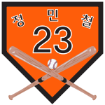 KBO Retired Hanwha 23.svg