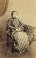 KITLV - 179939 - Buwalda, K. - Studio portrait of Raden Ayu Adhipatti Aria Tjokronegoro of Sidoardjo - circa 1868.tiff