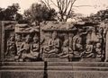 KITLV 155162 - Kassian Céphas - Reliefs on the terrace of the Shiva temple of Prambanan near Yogyakarta - 1889-1890.tif