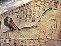 KV17, the tomb of Pharaoh Seti I of the Nineteenth Dynasty, Corridor D decorated with the fourth hour of the Amduat, Valley of the Kings, Egypt (49846343896).jpg