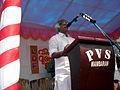 Kadannappally Ramachandran on the stage.JPG