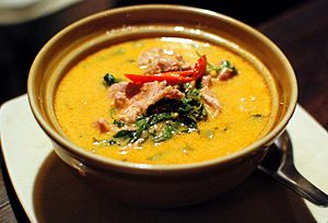 Red curry - Image: Kaeng phet mu