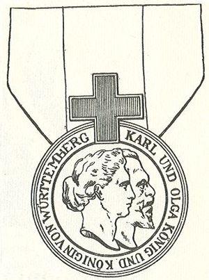 Order of Olga - Karl Olga Medal
