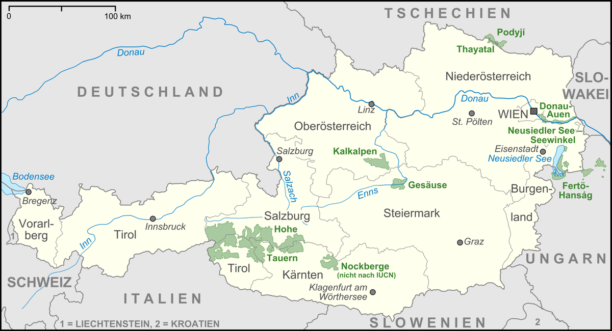 Nationalparks In Osterreich Wikipedia