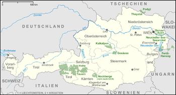 Hohe Tauern Karte.Nationalparks In österreich Wikipedia