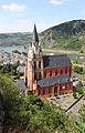 Kath. Liebfrauenkirche Oberwesel. Sicht von der Elfenley.jpg