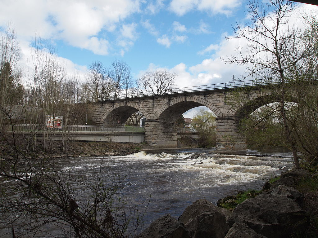 Eisenbahnbrücke über die Wertach