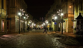 Centras (Kaunas) - Kaunas Old Town in winter