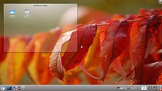 Porteus mit KDE4