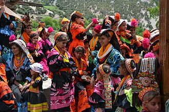 Dardic people - Kalash in traditional dress