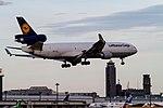 Ken H. GEC MD-11F on short final for R-W16R. (7596748414).jpg