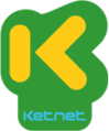 The fourth Ketnet logo, used from 2012 - 2015.