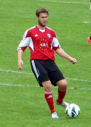 Kevin Sandwith - Sandwith playing for AFC Wulfrunians