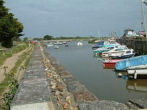 Keyhaven - Image: Keyhaven harbour
