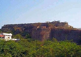 Khammam Fort - Khammam Khilla as seen from the City
