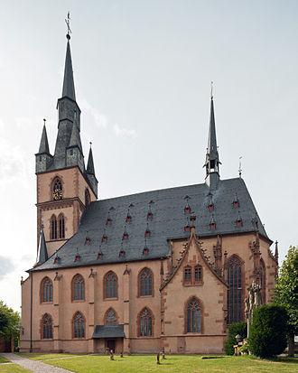 Kiedrich - Saint Valentine's Catholic parish church