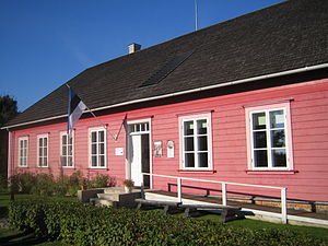 Kihnu - Image: Kihnu muuseum