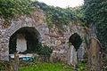 Killydonnell Friary South Transept East Wall Tombs 2012 09 17.jpg