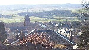 Kilmacolm - Kilmacolm village viewed from Rowantreehill.