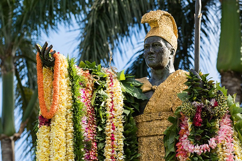 File:King Kamehameha Day Lei Draping Ceremony Hawaii (35194484296).jpg
