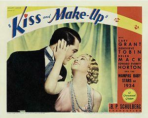 Kiss and Make-Up - Lobby card
