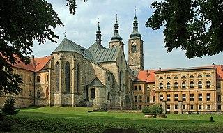 Teplá Town in Czech Republic