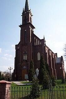 Kościół Świętego Józefa Oblubieńca NMP w Porębie.jpg
