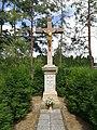Kobylnice (okres Brno-venkov) - kříž u hřbitova obr01.jpg