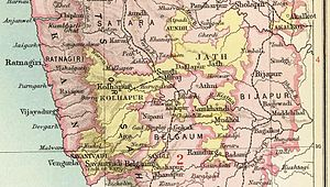Kolhapur State - Kolhapur State in the Imperial Gazetteer of India