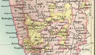 Kolhapur State - Kolhapur State in the Imperial Gazetteer of India