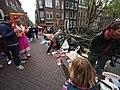 Koningsdag in Amsterdam, Lauriergracht foto 5.JPG