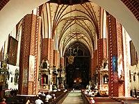Konkatedra w Chełmży-wnętrze