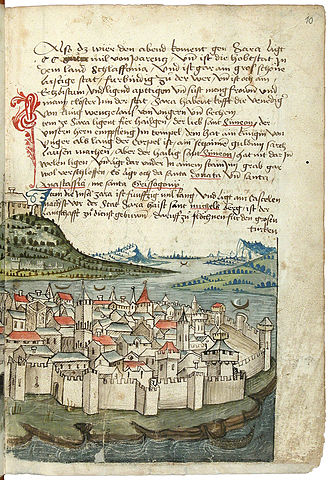 Siege of Zadar (1345–46) - Image of Zadar in the Late Middle Ages
