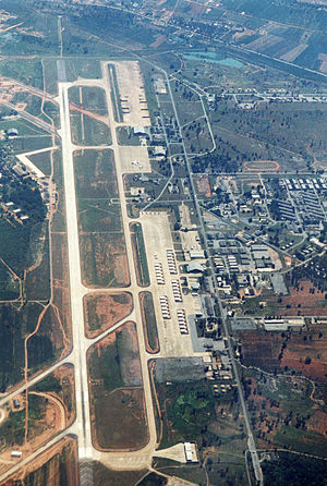 Korat RTAFB aerial view 1987