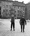Korcsolyázó fiúk, 1964. Fortepan 29474.jpg