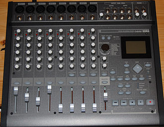 Multitrack recording - Korg D888 eight-track digital recorder