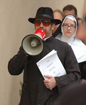 Scott Kosar - Kosar during the 2007 Writers Guild of America strike