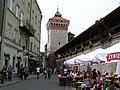 Kraków - brama floriańska - panoramio.jpg