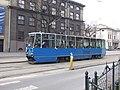 Krakov, Stare Miasto, ulice Straszewskiego, tramvaj.JPG