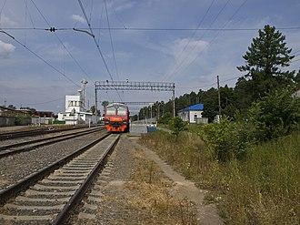 Krasnoarmeysk, Moscow Oblast - Krasnoarmeysk railway station
