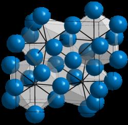 Struktur von Zementit