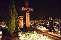 Krotoszyn, Krzyż Katyński w nocy.jpg