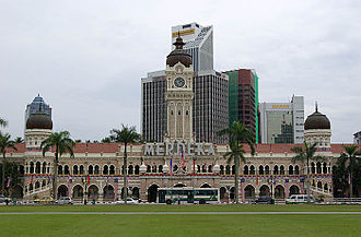 The Amazing Race Asia 1 - Kuala Lumpur's Merdeka Square was the starting line of the first season of The Amazing Race Asia.