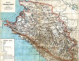 Kuban Oblast - Image: Kuban obl