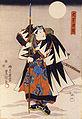 Kumesaburō Iwai III as Ōboshi Rikiya in Kanadehon Chūshingura.jpg