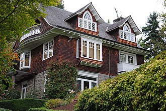 Nirvana (band) - Cobain's house in Seattle where he died in April 1994