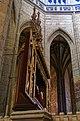 Kutná Hora - Chrám Sv.Barbory - Sideview on Neogothic Puristic Main Choiraltar 1905 Ludvík Lábler.jpg