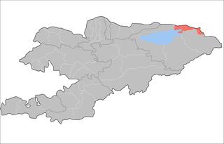 Tüp District Raion in Issyk-Kul Region, Kyrgyzstan