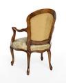 Länstol, bakifrån, 1700-talets mitt - Hallwylska museet - 110079.tif